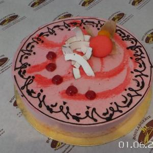 ENTREMETS COCO-FRAMBOISE