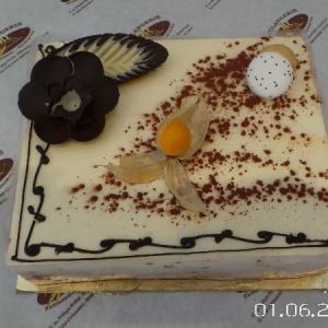 ENTREMET TROIS CHOCOLAT
